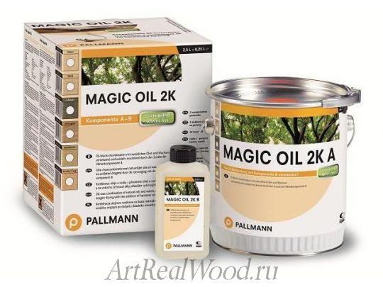 Масло бесцветное Magic Oil 2K Pallmann