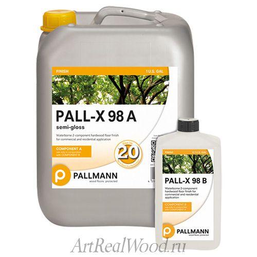 Паркетный лак Pall X 98 Pallmann