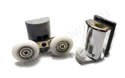 Ролик для душевой кабины VH080 (комплект 8шт) Диаметр колеса (от 18,6 до 28мм)