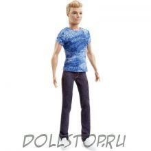 Кукла Кен Модник Джинсовый Блюз - Ken Fashionistas Doll 1 Dashing Denim 2016
