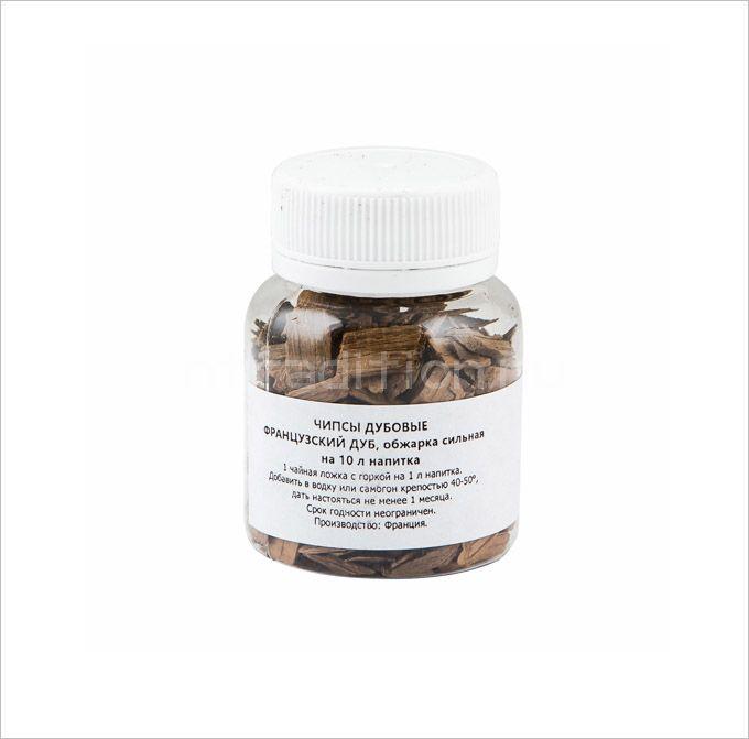 Дубовые чипсы Французский дуб, на 10 л., обжарка сильная (Франция)