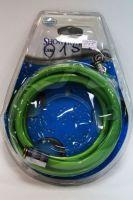 Vaserzberg 015 Душевой шланг 150см квадратный, пвх-виниловый, зеленый