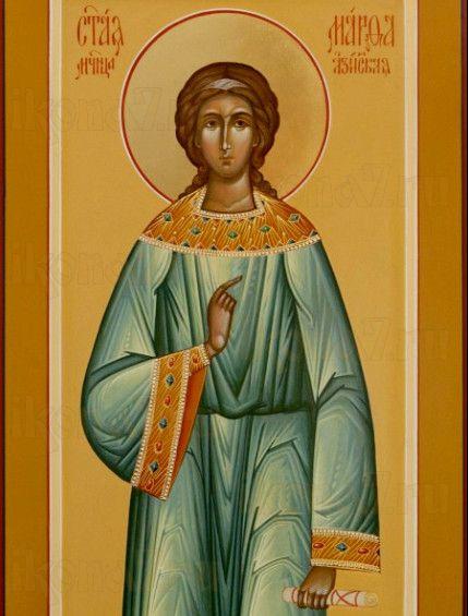 Икона Марфа Азийская (рукописная)