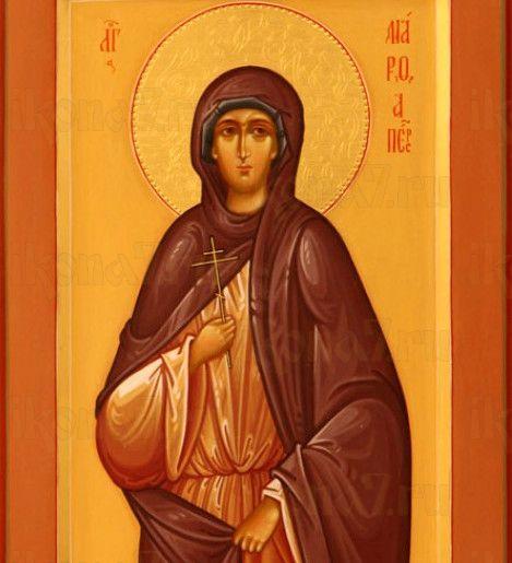 Икона Марфа Персидская (рукописная)