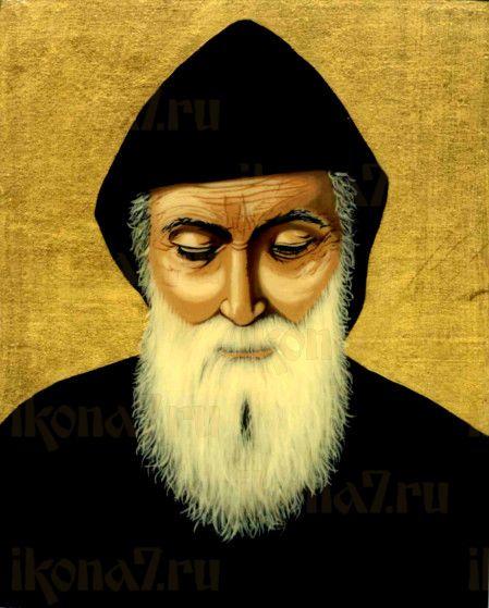 Шарбель (рукописная икона)