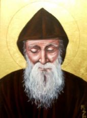 Икона Шарбель (рукописная)
