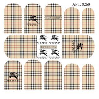 Слайдер-дизайн для ногтей №0260