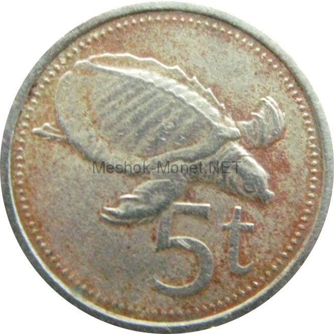 Папуа-Новая Гвинея 5 тоа 1984 г.