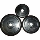 Диски RCP 10 обрезиненные (чёрные) Д-25мм