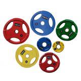Диски WP074 обрезиненные (цветные) Д-51мм