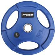 Диск обрезиненный синий  WP074-20, диаметр 51мм, 20кг
