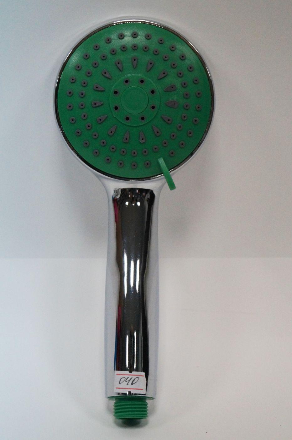 Массажная зеленая лейка для душа 040