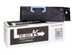 Тонер-картридж оригинальный Kyocera TK-880K 25000 стр. Black