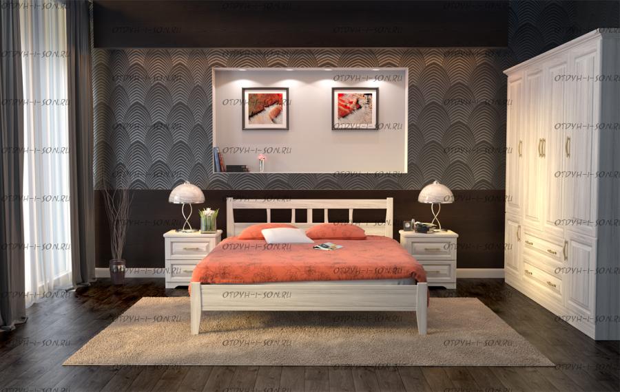 Кровать Лагуна 1 Массив DreamExpert