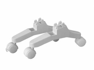 Ножки с колесами для конвектора Dantex ARCTIC SE + ручка
