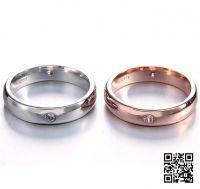 Обручальные кольца с платиной