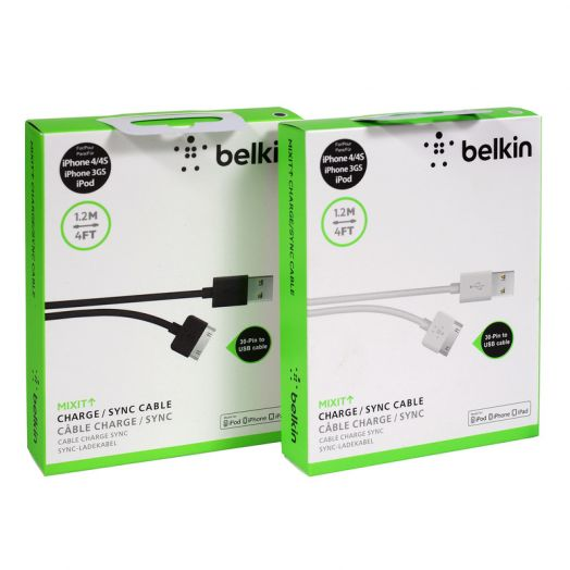 Шнур iPhone 4 - USB Belkin