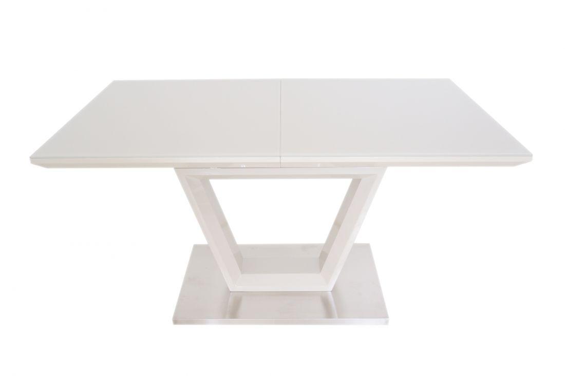 Стол трансформер со стеклянной столешницей ALEX