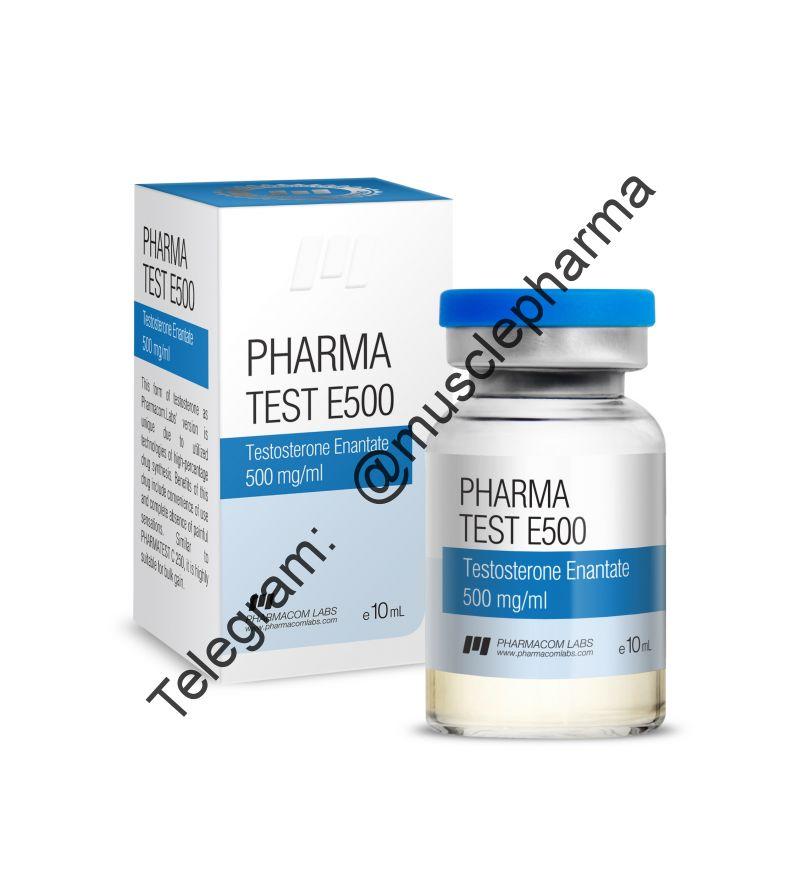 PHARMATEST E 500 (PHARMACOM LABS). 500mg/ml. 10ml * 1 флакон