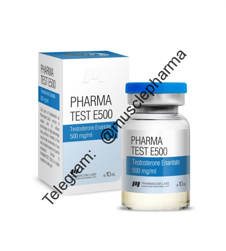 PHARMATEST E 500 (PHARMACOM LABS). 500mg/ml. 10ml * 1 флакон