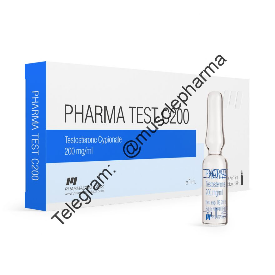 PHARMATEST C200 (PHARMACOM LABS). 200mg/ml. 1 ml * 1 ампула