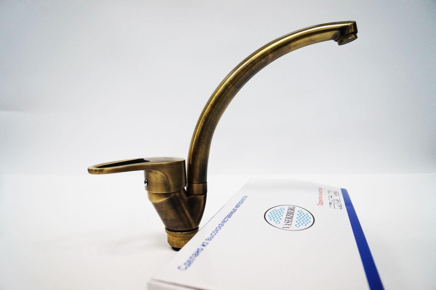 Vaserzberg Бронзовый латунный смеситель, АА-8006