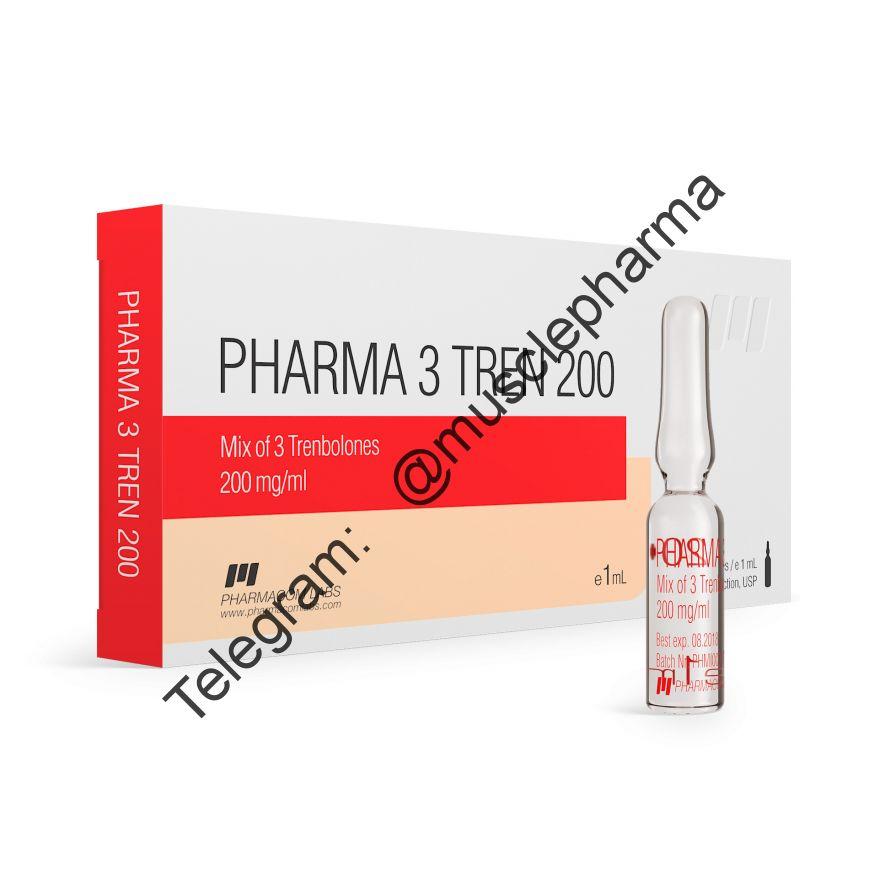 PHARMA 3 TREN 200 (ТРЕНБОЛОН МИКС). 1 ампула * 1 ml
