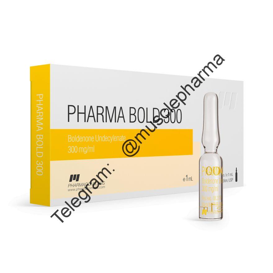 PHARMABOLD 300 (БОЛДЕНОН). 300mg/ml 1 ml * 1 ампула