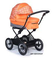 Детская модульная комбинированная коляска Babyhit Evenly 2 в 1 цвет оранжевый