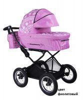 Детская модульная комбинированная коляска Babyhit Evenly 2 в 1 цвет фиолетовый