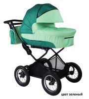 Детская модульная комбинированная коляска Babyhit Evenly 2 в 1 цвет зеленый