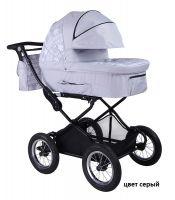 Детская модульная комбинированная коляска Babyhit Evenly 2 в 1 цвет серый