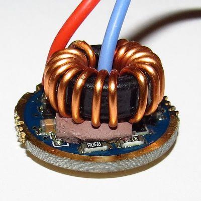 Драйвер FX6-5A, 5000mA, 6-8.4В, 22мм, 4 режима (для CREE XHP70)