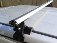 Универсальный багажник на крышу Муравей Д-1, аэродинамические дуги