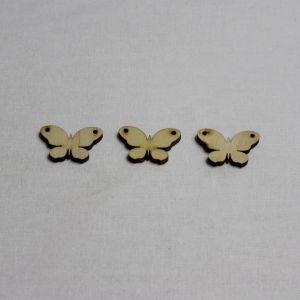 """Заготовка """"Бабочка"""" высота 3 см, фанера 3 мм (1уп = 20шт)"""