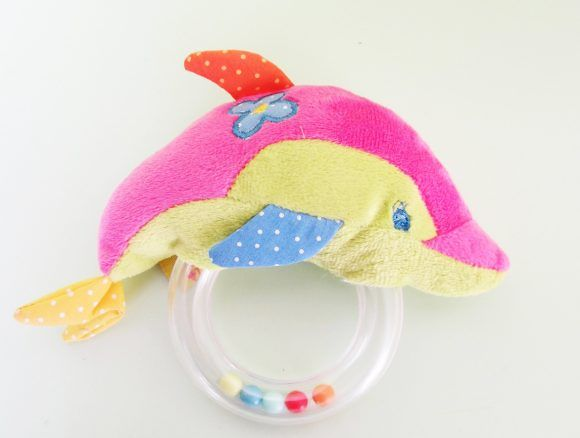 Погремушка Дельфин