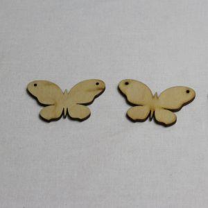 """`Заготовка """"Бабочка"""" высота 5 см, фанера 3 мм"""