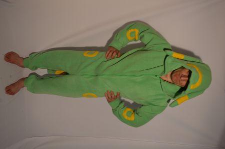 Кигуруми зеленый пакемон