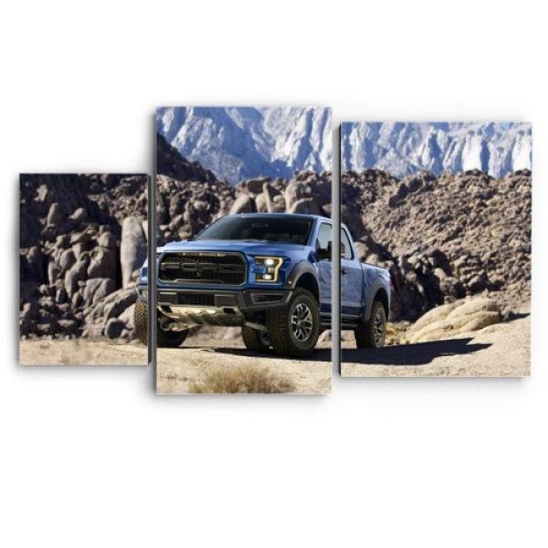 Модульная картина Форд в горах