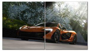 Модульная картина Forza