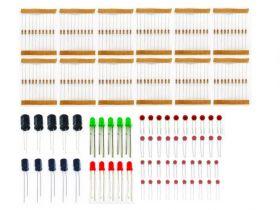 Набор электронных компонентов 20 в 1