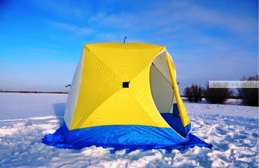 Палатка СТЭК КУБ 3-местная/ трехслойная / оксфорд 300PU (СТЭК - 50495)