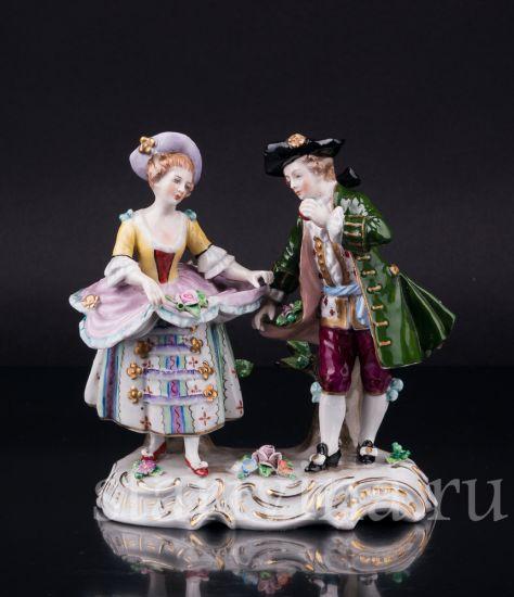 Изображение Танцующая пара, Sitzendorf, Германия, сер. 20 в