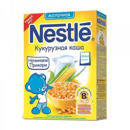 Каша молочная Nestle кукурузная 250г