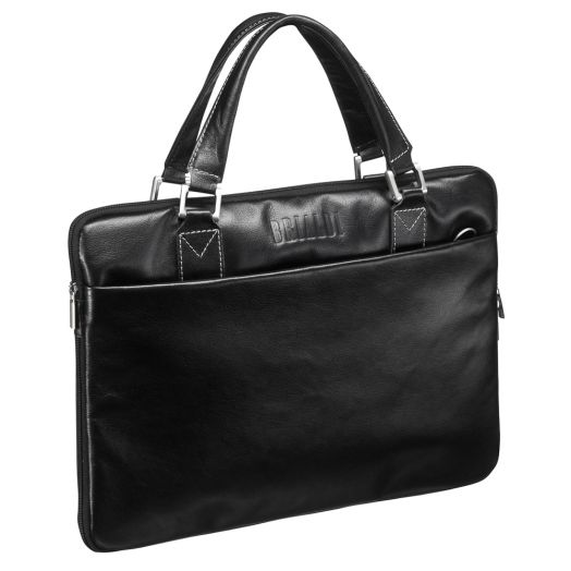 Деловая сумка SLIM-формата BRIALDI Ostin (Остин) black