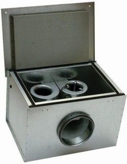 Вентилятор канальный KVK DUO 400