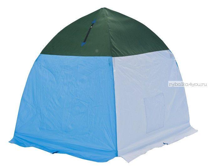 Палатка-зонт без дна СТЭК Классика с алюм. звездочкой 1-а местная / оксфорд150PU (СТЭК - 32985)