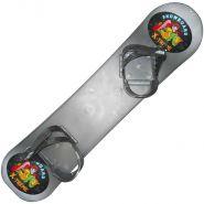 Сноуборд пластиковый с креплениями 268390 (Протеус)