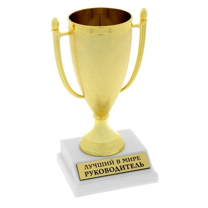 Кубок матовый Лучший в мире руководитель