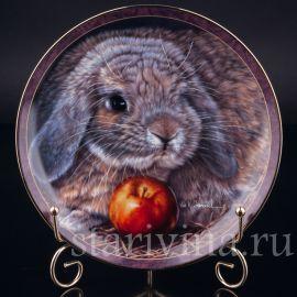 Три декоративные тарелки Рассказы о кроликах, Bradford, Англия, 1997 г